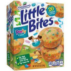 Entenmann's Little Bites Party Cake Mini Muffins, Funfetti Snacks, 5 pouches No Bake Snacks, Party Snacks, Party Party, Gourmet Recipes, Snack Recipes, Little Bites, Food Porn, Cake Bites, Devils Food