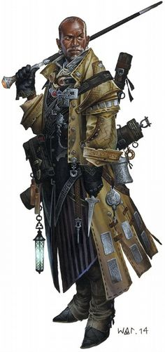 """""""wesschneider:  Previews for the Pathfinder RPG: Advanced Class Guide continue!  Meet the Iconic Investigator: Quinn! And if you missed it, also meet the Iconic Swashbuckler, Jirelle.   """""""