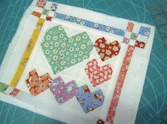 Sashing and 9-patch blocks--Terri Fisher--Splendid Sampler quilt