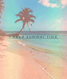 i need summer time summer sky beach ocean clouds tropical palm trees animated gif summer gif Summer Vibes, Summer Sun, Summer Of Love, Summer Nights, Hello Summer, Summer 2014, Sunset Beach, Beach Bum, Photo Ocean