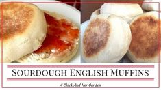 Looking for an easy, make ahead breakfast? These Sourdough English Muffins are perfect! I promise you'll never want to buy them from the store again! Sourdough Recipes, Sourdough Bread, Bread Recipes, Baking Recipes, Cooking Bread, Bread Baking, Friendship Bread Recipe, Sourdough English Muffins, Make Ahead Breakfast