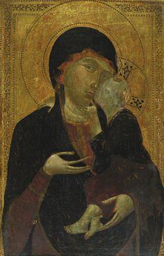 Peintre florentin actif dans le cercle de Cimabue, c. 1285-1290, h/p, 70,2 c 45,7 cm