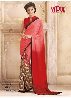 #VipulFashions #FashionForever #saree #sari #fashion #Evoke #catalog