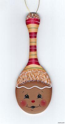 HP Gingerbread Spoon Shape Ornament   eBay