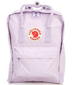 "From Fjallraven, the Kanken Water-Resistant Convertible Backpack features:Durable water-resistant cotton Vinylon fabricZipper closureRemovable seat padFront and side pocketsZip pocket outsideDouble convertible straps for bag or backpack wearApprox. 14.9"" x 10.6"" x 5.1""; 14.9"" strap lengthVolume approx. 16 LImported."
