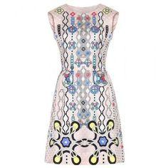 Peter Pilotto - Printed silk dress #dress #peterpilotto #women #designer #covetme