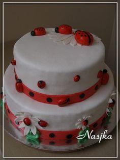 LadyBug Cake by Nasjka, via Flickr