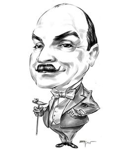David Suchet as Hercule Poirot