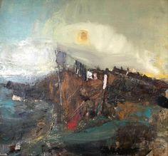 Your Paintings - Joan Kathleen Harding Eardley paintings winter sun II Abstract Landscape, Landscape Paintings, Landscapes, Abstract Art, Art Uk, Collage, Your Paintings, Painting Inspiration, Painting & Drawing