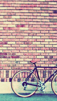 Vintage Bike iPhone 5C / 5S wallpaper