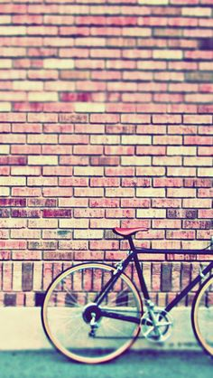 Vintage Bike iPhone 5/5C/5S Wallpaper