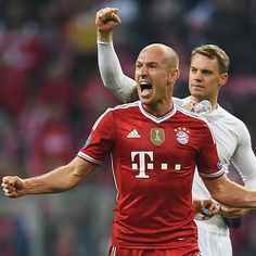 """""""It's just tremendous!"""" Arjen #Robben about his nomination for Best Player in Europe. #MiaSanMia"""