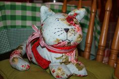 Stuffed Cat Sew, Christmas Ornaments, Toys, Holiday Decor, Home Decor, Projects, Activity Toys, Decoration Home, Room Decor