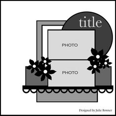 """change to make it look like a wedding cake, but the """"cake"""" are pictures with a little bride and groom at the top."""