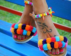 Tie Up Gladiator Sandals Greek Sandals Semi by DimitrasWorkshop