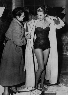 Post swim in 1956.