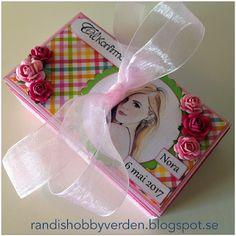 Randis hobbyverden: Kombinert konfirmasjonskort og gaveboks
