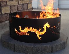 Hey, I found this really awesome Etsy listing at https://www.etsy.com/listing/228953970/dragon-fire-pit-metal-metal-art-fire