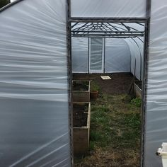 Good gods. Weve done all but the sliding door! Done for today. #polytunnel #nearlythere Sliding Doors, Garage Doors, Garden Projects, Outdoor Decor, How To Make, Instagram, Home Decor, Sliding Gate, Sliding Door