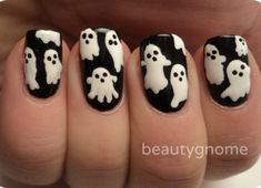 Halloween-ghost-nail-art-designs-and-trend-2014
