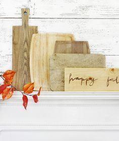 Simple Fall Display Ideas