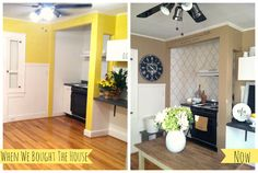 """The after is """"tea stained"""" by better homes and gardens"""