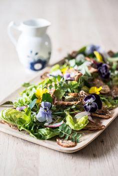 Salat med ukrudt – enhver haveejers og landmands yndlingsspise