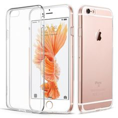 Best Apple iPhone 6 Cases/iphon6S TPU Gel Jelly Skin Case / Cover Crystal Clear…
