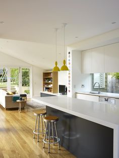 Doherty Design Studio's Sydney Residence Kitchen and Living. Photographer: Gorta Yuuki
