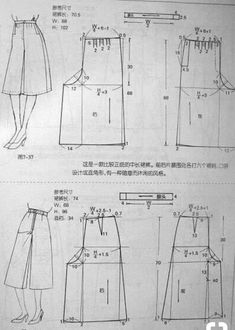 Sewing pants pattern costura Ideas for 2020 Dress Sewing Patterns, Sewing Patterns Free, Sewing Tutorials, Clothing Patterns, Sewing Pants, Sewing Clothes, Sewing Magazines, Diy Couture, Pattern Cutting
