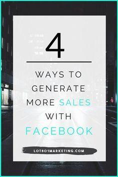Facebook marketing tips + A FREE Webinar! -Lot801 Marketing. Business tips, biz tips, blogger tips, entrepreneur, creative entrepreneur, handmade shops, small shops, etsy shops.