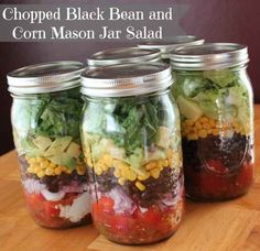 Chopped Black Bean And Corn Salad