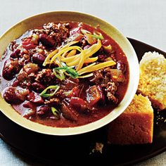 Top-Rated Chili Recipes | Green Chile Chili | CookingLight.com