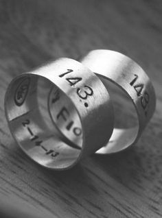I Love You Secret Message Ring