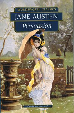 "Persuasion by Jane Austen has been called the ""thinking readers Pride and Prejudice"". Since I like this book better than P&P, I wholeheartedly agree."