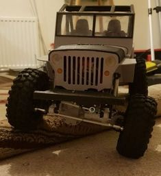 The Willy's Jeep RC-Life.co.uk Radio Control, Jeep, Monster Trucks, Life, Jeeps