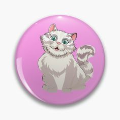 Pin Button, Order Prints, My Arts, Cartoon, Art Prints, Printed, Cats, Awesome, Illustration
