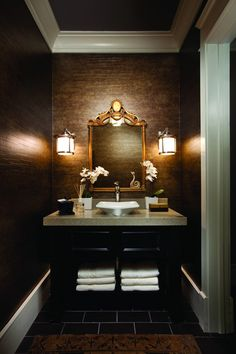 1000 images about powder room ideas on pinterest half for Les plus belles salle de bain du monde
