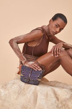 All — AAKS | Hand Crafted Summer Raffia Bags Leather Handle, Sustainable Fashion, Bikinis, Swimwear, Dots, Summer, Pink, How To Wear, Crafts