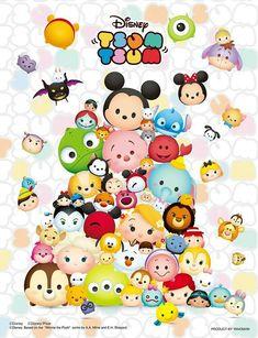Disney Tsum Tsum:)