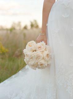 #bouquet, #rose  Photography: Aaron Delesie Photographer - aarondelesie.com Event Planning: Birch Design Studio - birchdesignstudio.com Floral Design: Kehoe Designs - kehoedesigns.com/