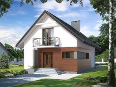 Lilia CE Pow. użytkowa: 104,4 m² Pow. zabudowy: 86,1 m²