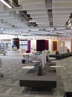 Quiet Zone Saltire Centre Glasgow Caledonian University