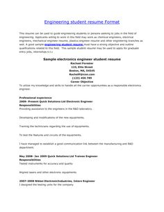 Format For Job Resume Entrancing Sample Resumes University Career Services 2  Httpwww.jobresume .