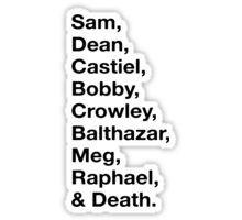Badass Names Sticker