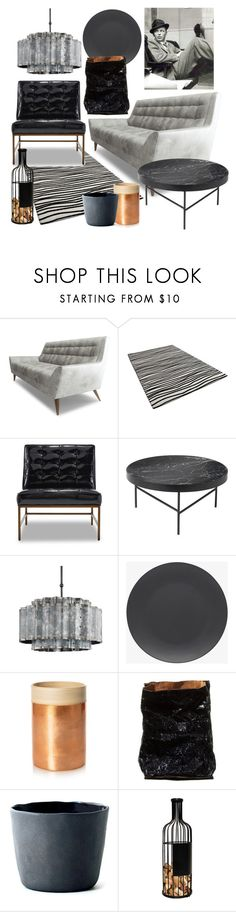 sinatra by dodo85 on Polyvore featuring interior, interiors, interior design, home, home decor, interior decorating, Thrive, Mitchell Gold + Bob Williams, Currey & Company and New View