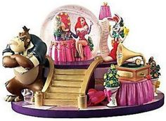 Disney Snowglobes Collectors Guide: Who Framed Roger Rabbit Snowglobe Disney Rooms, Disney Art, Disney Pins, Disney Music Box, Chrissy Snow, Jessica And Roger Rabbit, Collection Disney, Disney Snowglobes, Disney Wishes