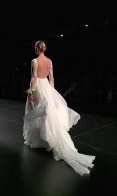 christina tamborero wedding dress
