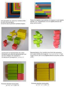 CUISENAIRE (mathématiques : réglettes)