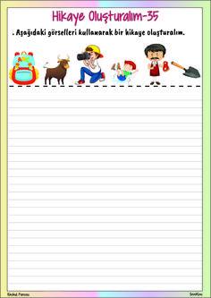 Hikaye Oluşturalım-35 Drama, Homework, Storytelling, Preschool, Writing, Education, Kids, Young Children, Boys